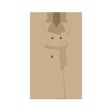 ウールやカシミアなどの高級素材の衣類