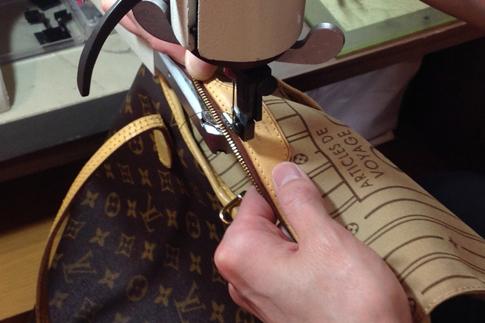 ブランドバッグの修理